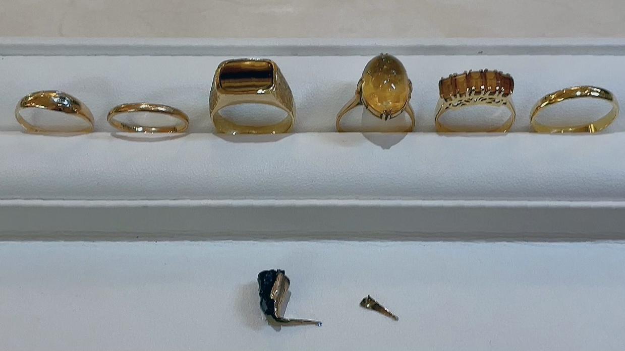 【買取速報】シトリン、万年筆、指輪、585、K18YG-2021-08-06