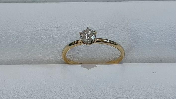 【買取速報】ダイヤモンド、婚約指輪・エンゲージリング、指輪、K18YG-2021-08-31