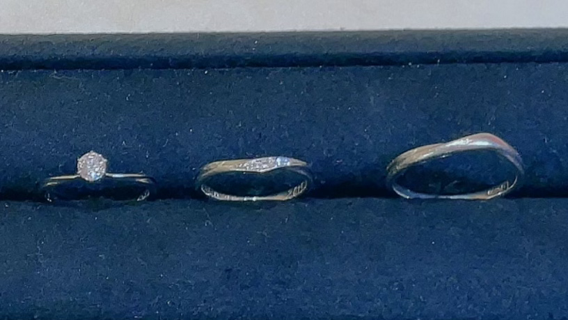 【買取速報】ダイヤモンド、婚約指輪・エンゲージリング、指輪、結婚指輪・マリッジリング、PT950-2021-08-11