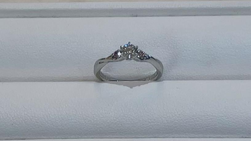 【買取速報】ダイヤモンド、婚約指輪・エンゲージリング、指輪、PT900-2021-08-01
