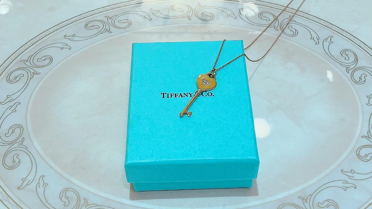 【買取速報】ダイヤモンド、ペンダント、750、Tiffany & Co.-2021-09-30