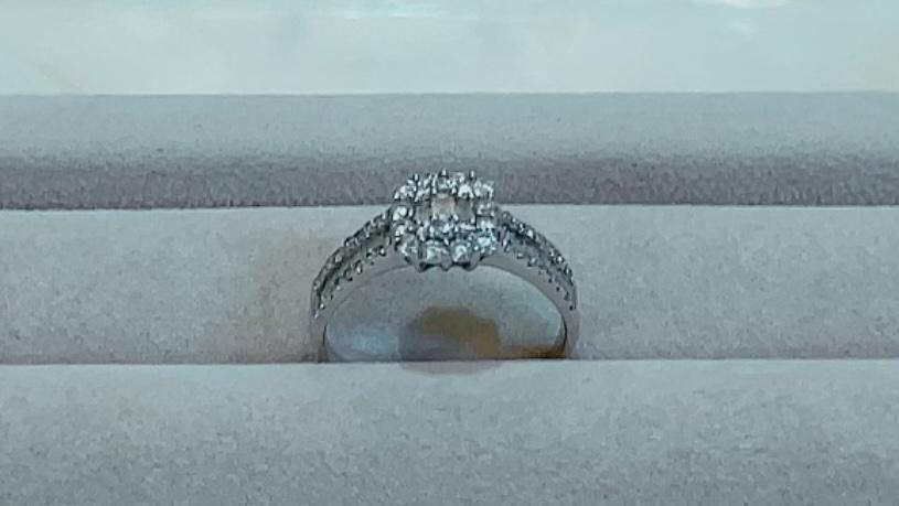 【買取速報】ダイヤモンド、指輪、K18WG-2021-09-30