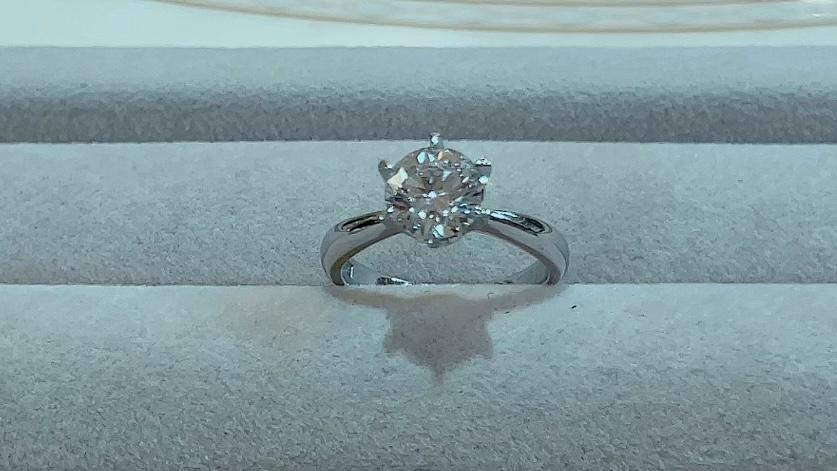 【買取速報】ダイヤモンド、婚約指輪・エンゲージリング、指輪、PT900-2021-09-02