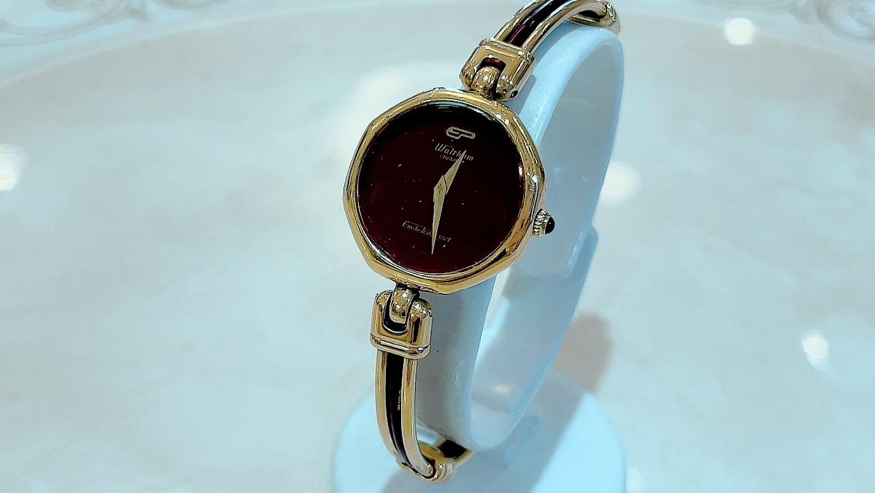 【買取速報】腕時計、WALTHAM-2021-09-05