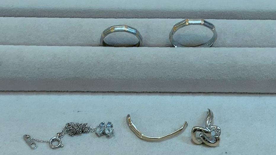 【買取速報】アクアマリン、ダイヤモンド、ペンダント、指輪、結婚指輪・マリッジリング、K10WG、K-2021-09-18