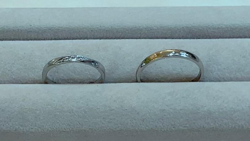 【買取速報】ダイヤモンド、指輪、結婚指輪・マリッジリング、PT900-2021-09-14