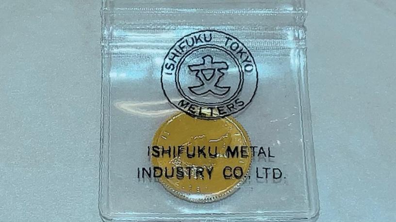 【買取速報】コイン、メイプルリーフ、金貨、999.9、K24YG-2021-09-01