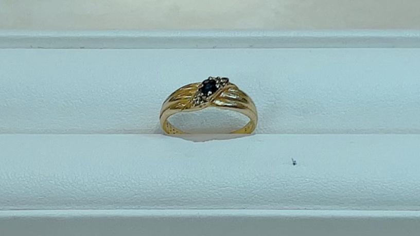 【買取速報】サファイヤ、ダイヤモンド、指輪、K18YG-2021-09-18