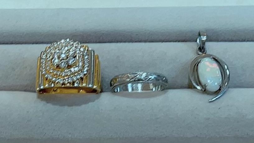【買取速報】オパール、ダイヤモンド、ペンダントトップ、指輪、結婚指輪・マリッジリング、K18YG-2021-09-04