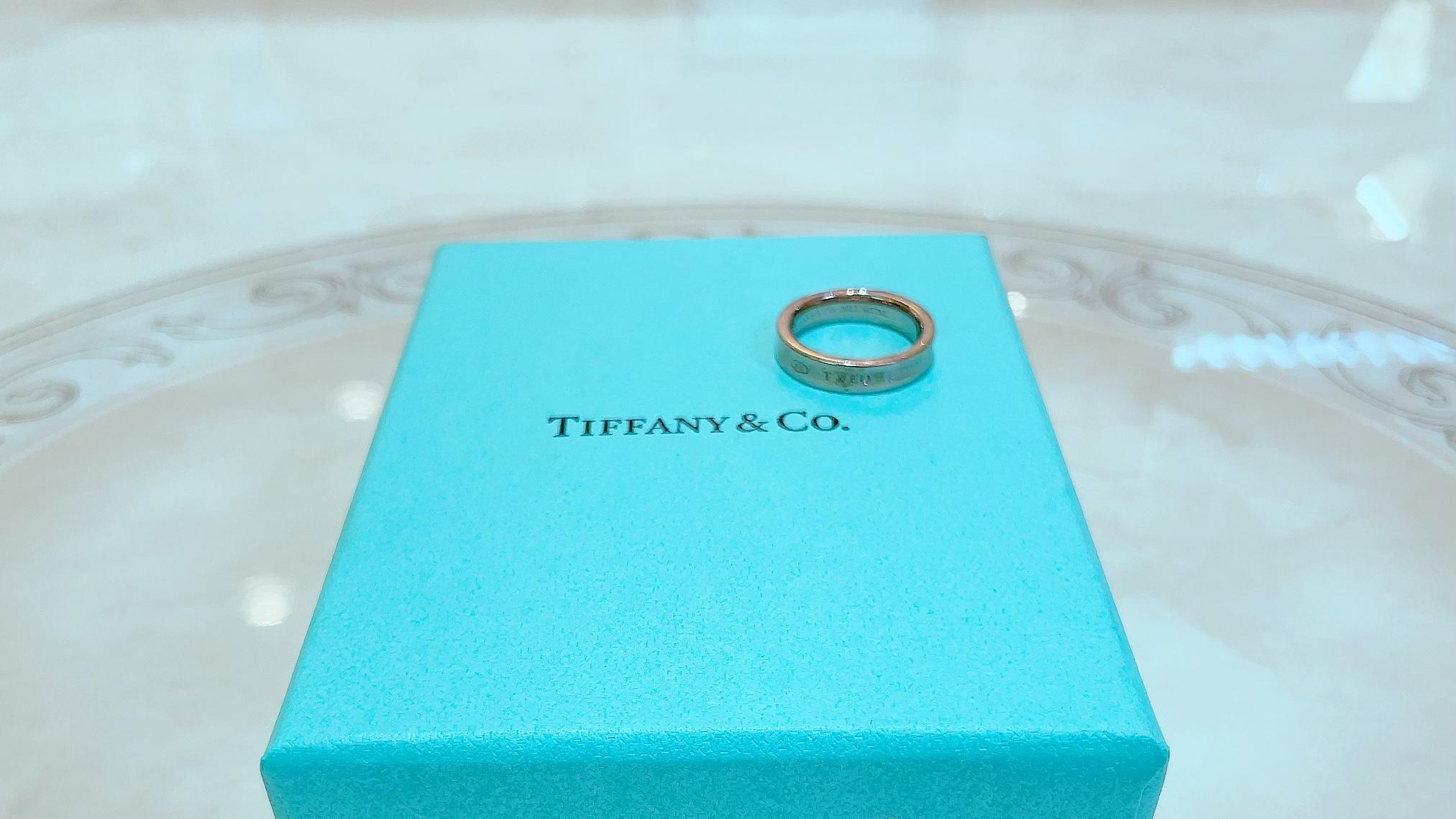 【買取速報】指輪、Tiffany & Co.-2021-09-30