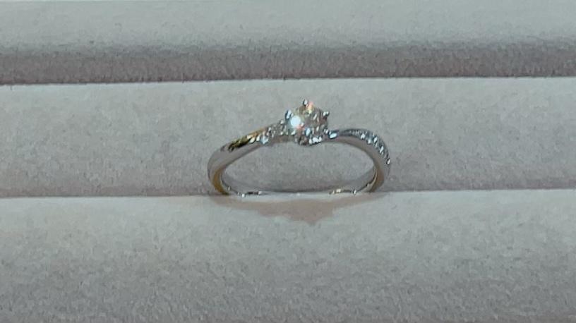 【買取速報】ダイヤモンド、婚約指輪・エンゲージリング、指輪、PT950-2021-09-28