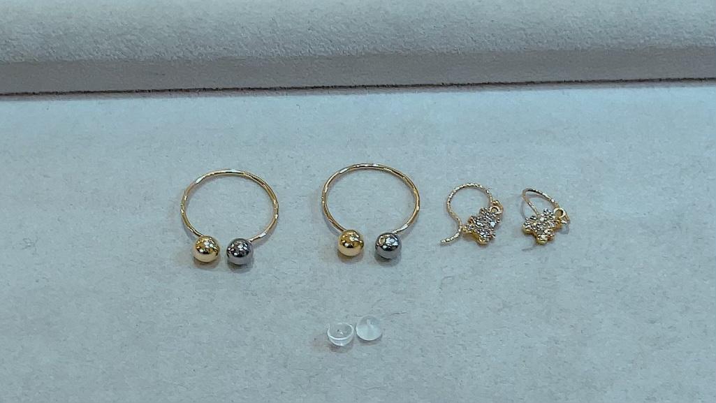 【買取速報】ダイヤモンド、ピアス・イヤリング、K18YG-2021-09-21