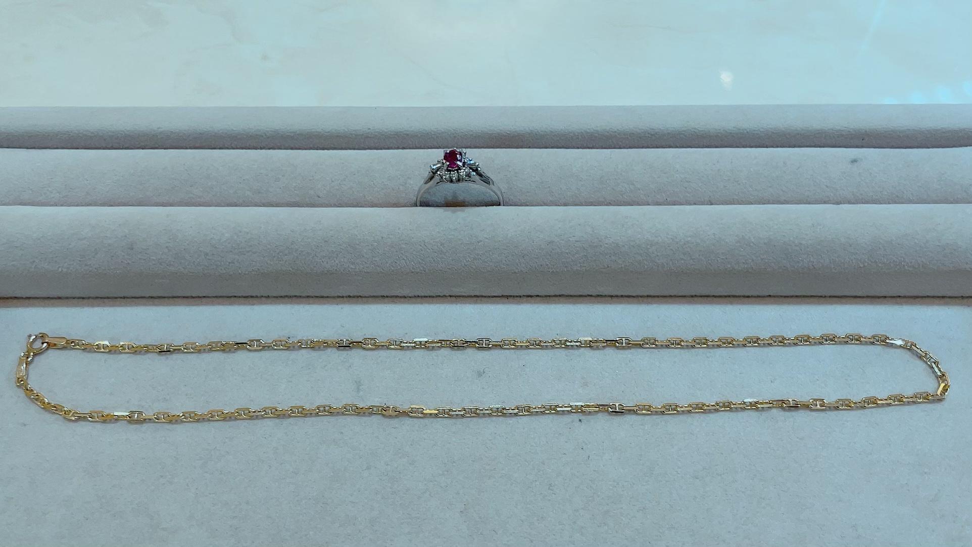 【買取速報】ダイヤモンド、ルビー、ネックレス、指輪、K14YG、PT900-2021-10-14