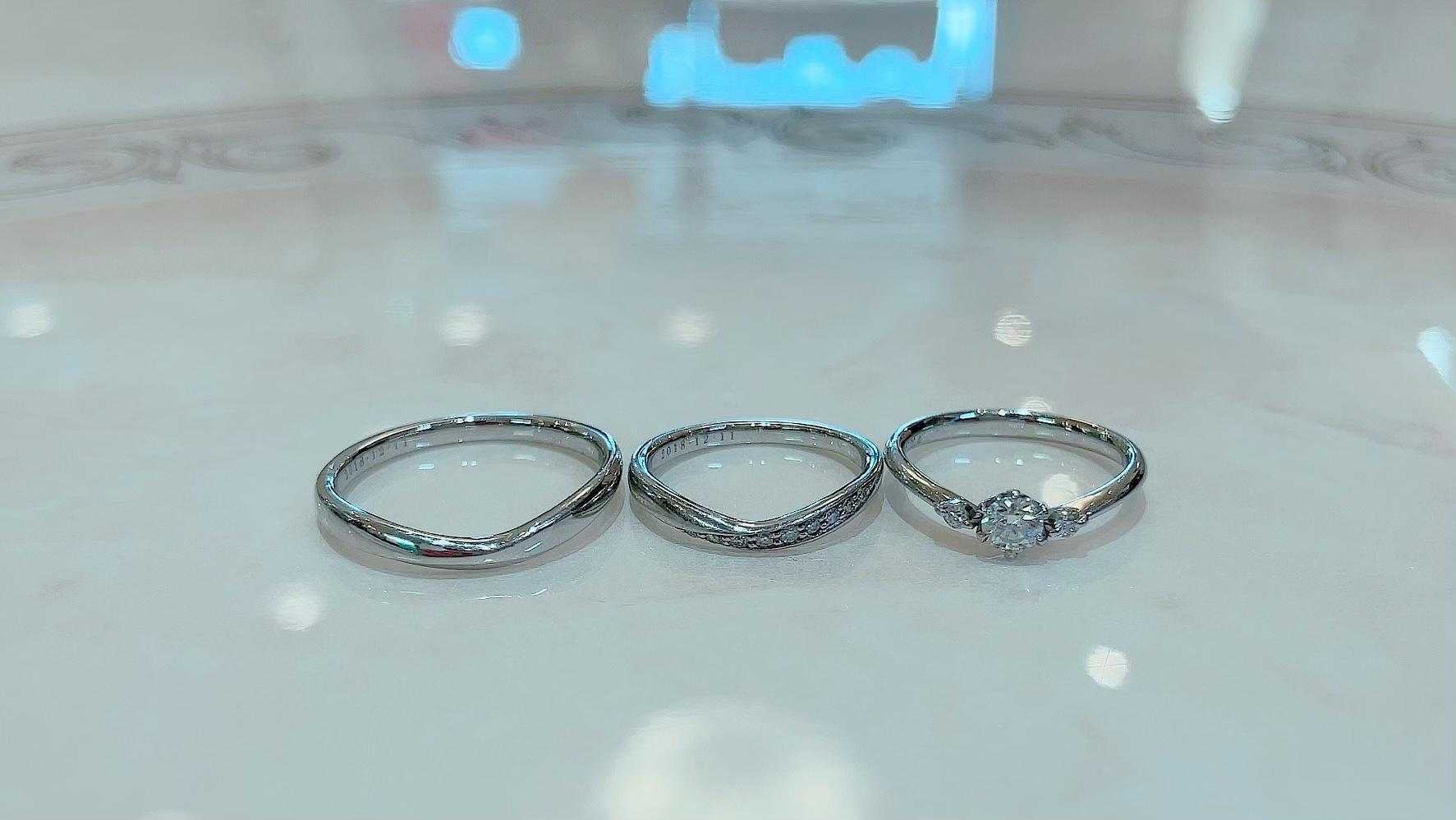【買取速報】ダイヤモンド、婚約指輪・エンゲージリング、指輪、結婚指輪・マリッジリング、PT950-2021-10-10