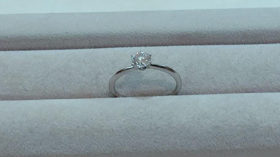 【買取速報】ダイヤモンド、婚約指輪・エンゲージリング、指輪、PT950、D&D144-2021-10-14