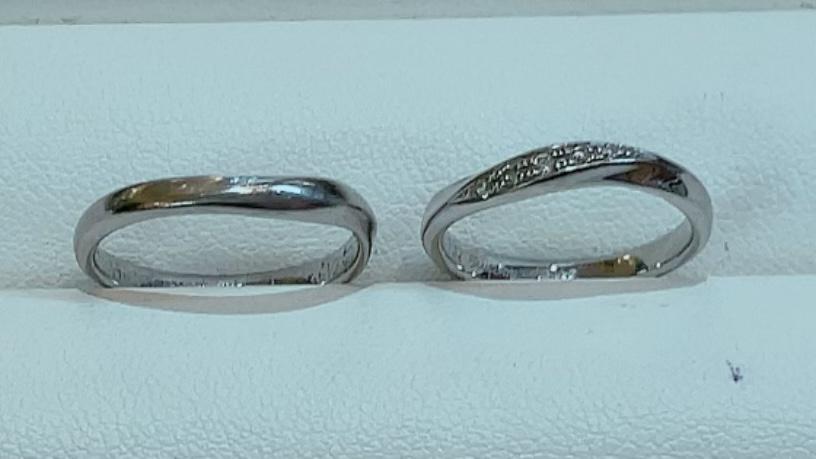 【買取速報】ダイヤモンド、指輪、結婚指輪・マリッジリング、PT999-2021-10-13