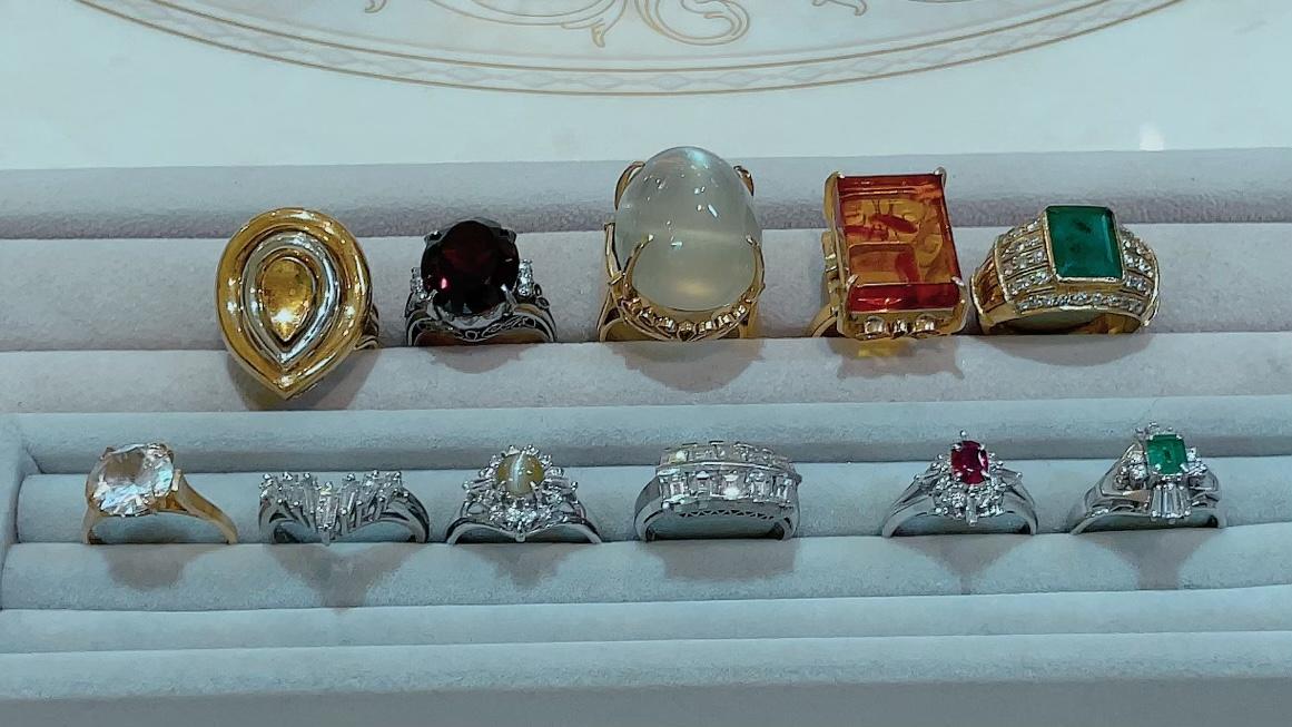【買取速報】エメラルド、ガーネット、キャッツアイ、ダイヤモンド、プレーナイト、ルビー、琥珀、-2021-10-10