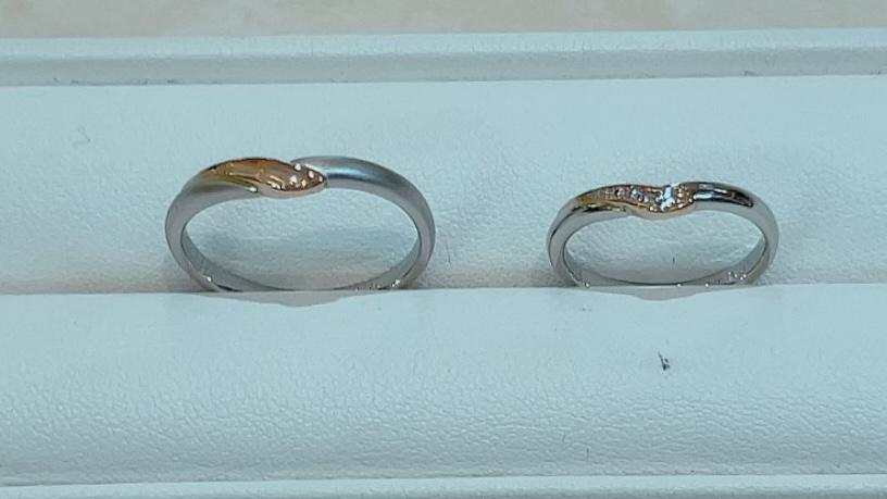 【買取速報】ダイヤモンド、指輪、結婚指輪・マリッジリング、K18YG、PT950-2021-10-03