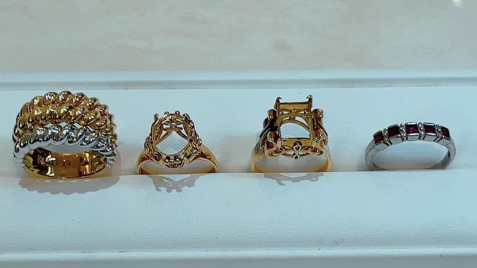 【買取速報】ダイヤモンド、ルビー、指輪、750、K18YG、PT900-2021-10-13