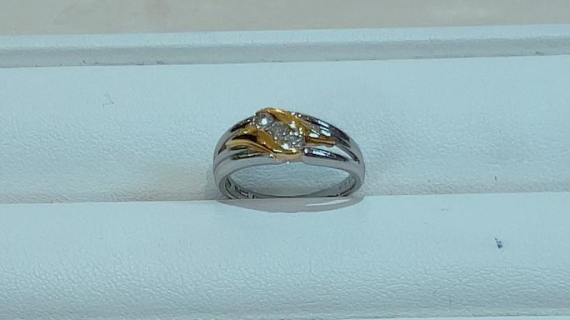 【買取速報】ダイヤモンド、指輪、K18YG、PT900-2021-10-02