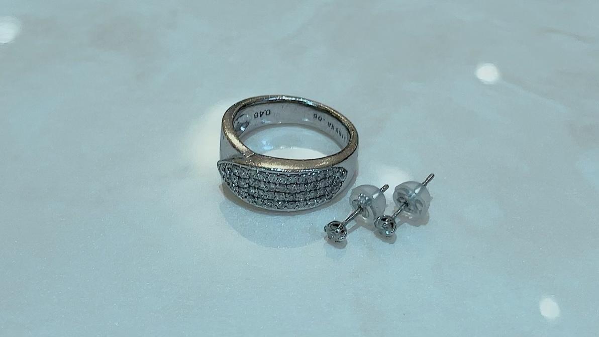 【買取速報】ダイヤモンド、ピアス・イヤリング、指輪、K18WG、PT900-2021-10-10